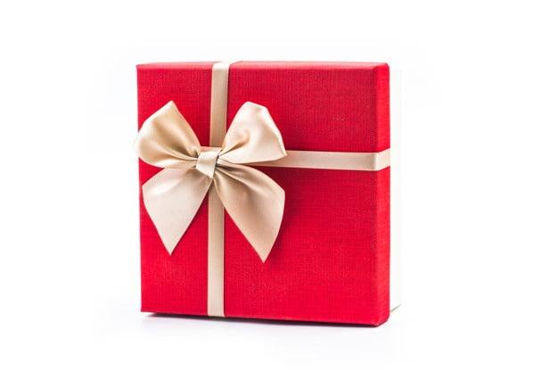 Doner et gavekort til rumfidusen